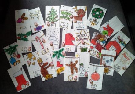 Weihnachtskalender Zum Selber Machen.Für Kreative Adventskalender Selbst Gestalten