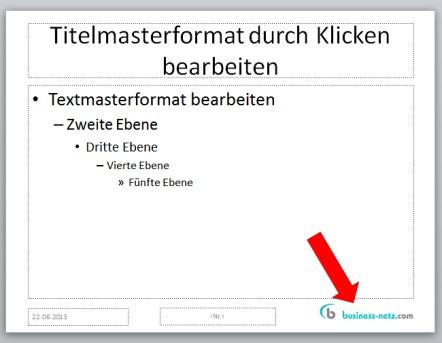 Firmenlogo In Powerpoint Folien Einbauen So Gehts