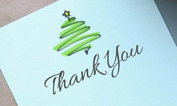 Persönliche Weihnachtskarten Foto.Danke Dass Es Dich Gibt Ihre Ganz Persönliche Weihnachtspost